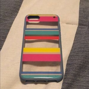 Kate Spade Rainbow Striped iPhone 6/7 Case